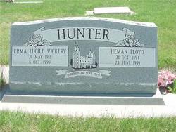Erma Lucile <i>Vickery</i> Hunter
