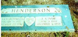 Lucy Ellen <i>Robnett</i> Henderson