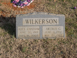 Alice Gertrude <i>Chatham</i> Wilkerson
