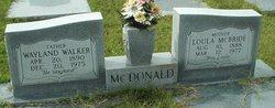 Loula <i>McBride</i> McDonald