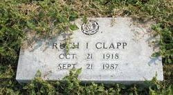 Ruth Imogene <i>Fuqua</i> Clapp