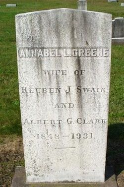 Annabel L. Swain <i>Greene</i> Clark