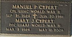 Manuel P Cypert