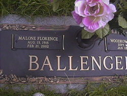 Malone <i>Florence</i> Ballenger