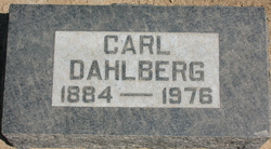 Carl Dahlberg