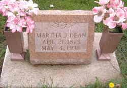 Martha Jane <i>Morgan</i> Dean