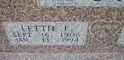 Lettie E. Bond