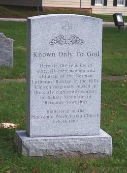 Pluckemin Presbyterian Church Burial Ground