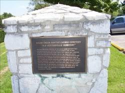 Sugar Creek Baptist Church Cemetery