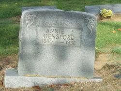 Annie J. <i>Rast</i> Densford