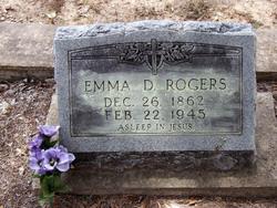 Emma D <i>Lightsey</i> Rogers