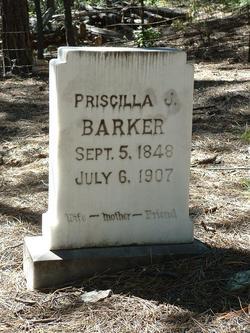 Priscilla Jane <i>McGuire</i> Barker