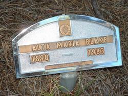 Alta Maria Blake