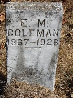Edith May <i>Flint</i> Coleman