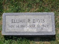Elijah P Davis