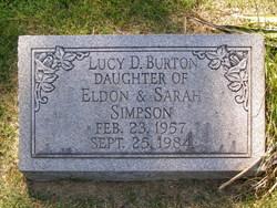 Lucy D <i>Simpson</i> Burton