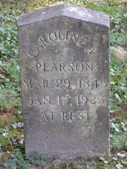 Caroline A <i>Arrington</i> Pearson