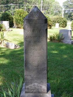 Mary E. <i>Arrington</i> Cheshire