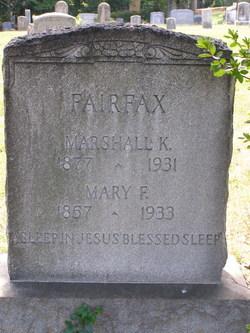 Marshall Kincheloe Fairfax