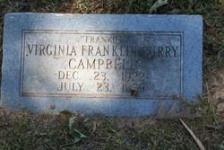 Virginia Franklin <i>Curry</i> Campbell