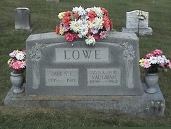 Pvt James E. Lowe