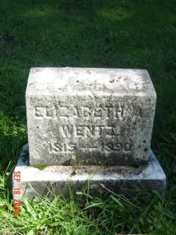 Elizabeth Ann <i>Kolbflesh</i> Wentz