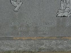 John Fayne Ward