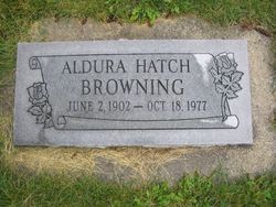 Aldura <i>Hatch</i> Browning