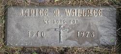 Janice Marie <i>Tiskie</i> Wallace