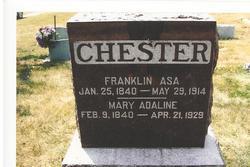 Sgt Asa Franklin Frank Chester