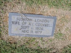 Susannah <i>London</i> Cornwell