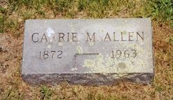 Carrie Maude <i>Batchelder</i> Allen