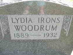 Lydia Tryphenia <i>Irons</i> Woodrum