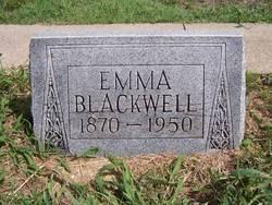 Amanda Emogene Rebecca Emma <i>Robnett</i> Blackwell