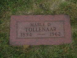 Mable Delpha <i>Wright</i> Tollenaar