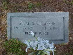 Mattie Adeal <i>Nazworth</i> Thompson