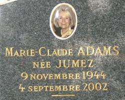 Marie-Claud <i>Jumez</i> Adams