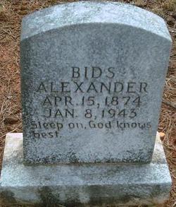 Bids Alexander