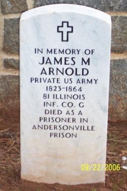 Pvt James M Arnold