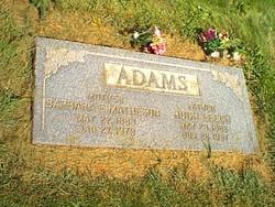 Barbara Ellen <i>Matheson</i> Adams