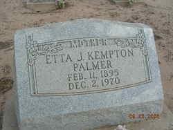 Etta Jane <i>Kempton</i> Palmer