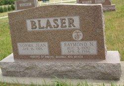 Norma Jean <i>Gilbert</i> Blaser