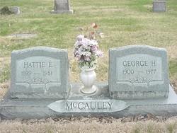 Hattie E. <i>Curtis</i> McCauley