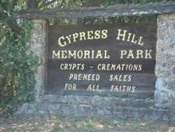 Cypress Hill Memorial Park