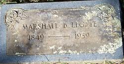Marshall Boles Legate