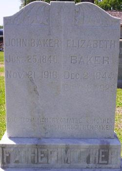 Elizabeth <i>Ward</i> Baker