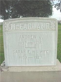 Sarah Elizabeth <i>Woodward</i> McFarland