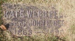 Kate <i>Webb</i> Beggs