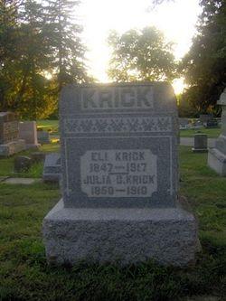 Julia C <i>Leis</i> Krick