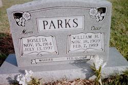 Rosetta <i>Frakes</i> Parks